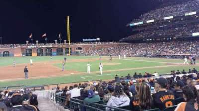 AT&T Park, section: 125 , row: 20, seat: 1