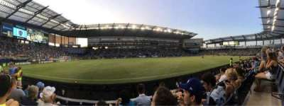 Children's Mercy Park, section: 127, row: 4, seat: 5
