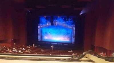 San Diego Civic Theatre, section: mezzanine, row: O, seat: 24