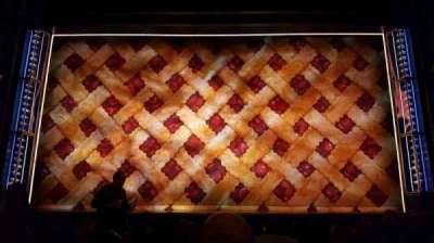 Brooks Atkinson Theatre, section: orch, row: h, seat: 108