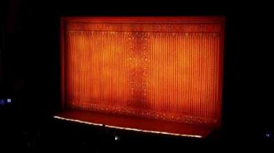 Pantages Theatre (Hollywood), section: mezz, row: f, seat: 2
