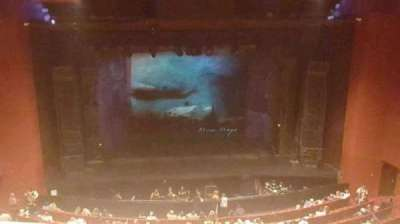 San Diego Civic Theatre, section: balc, row: p, seat: 9
