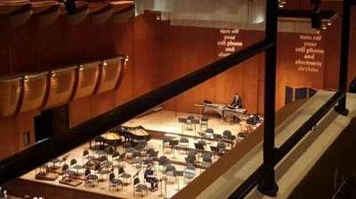 David Geffen Hall, section: tier 3, row: box 16, seat: 8