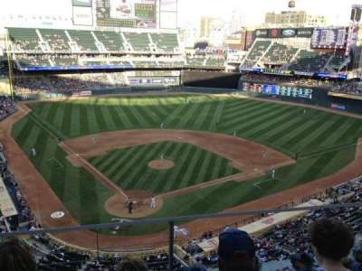Target Field, section: 213, row: 3, seat: 15