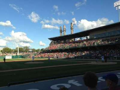 Victory Field, section: 108, row: G, seat: 14