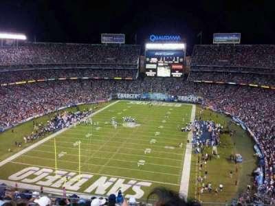 Qualcomm Stadium section V24