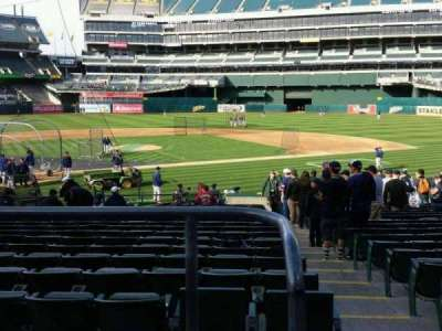 Oakland Alameda Coliseum section 115