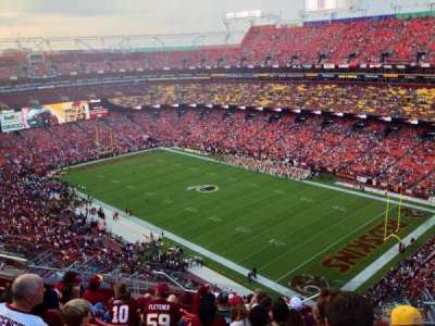 FedEx Field, section: 448, row: 14, seat: 7