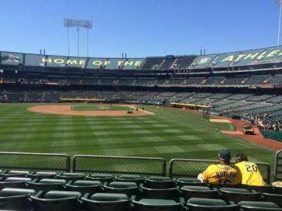 Oakland Alameda Coliseum, section: 135, row: 33, seat: 5