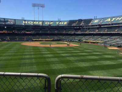 Oakland Alameda Coliseum section 136