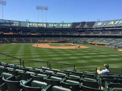 Oakland Alameda Coliseum section 137