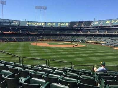 Oakland Alameda Coliseum section 137