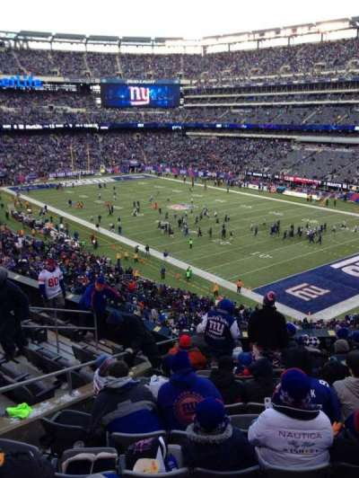 MetLife Stadium, section: 232a, row: 11, seat: 9