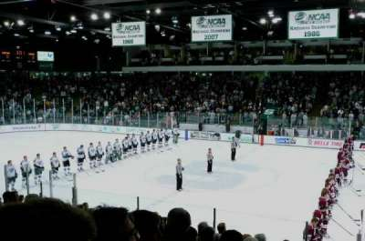 Munn Ice Arena, section: H, row: 14, seat: 16
