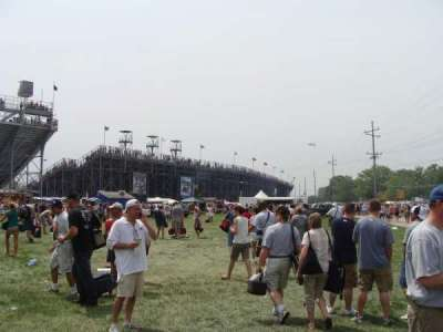 Indianapolis Motor Speedway section Outside