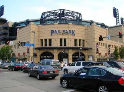 PNC Park section Outside