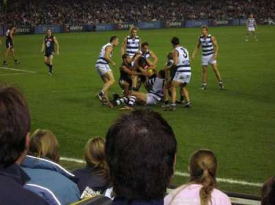 Etihad Stadium (Melbourne), section: L1 22, row: F, seat: 44