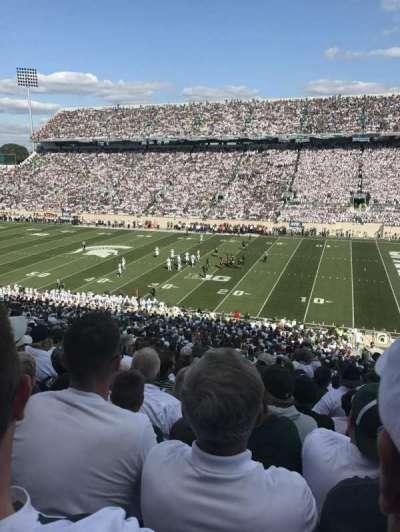 Spartan Stadium, section: 21, row: 53, seat: 24