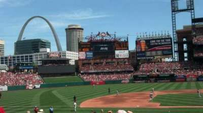 Busch Stadium section 154