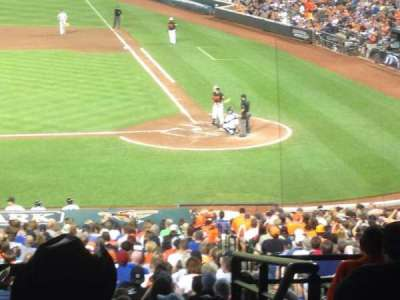 Oriole Park at Camden Yards section 47