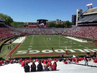 Sanford Stadium, section: 120, row: 44, seat: 15