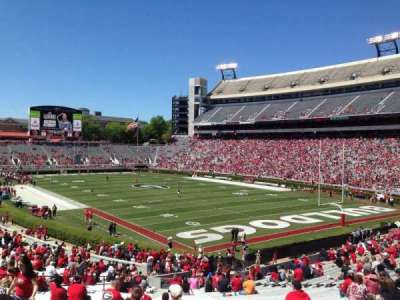 Sanford Stadium, section: 123, row: 41, seat: 11