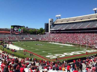 Sanford Stadium, section: 123, row: 41, seat: 10