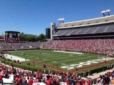 Sanford Stadium, section: 124, row: 41, seat: 7