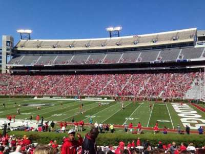 Sanford Stadium, section: 128, row: 29, seat: 7
