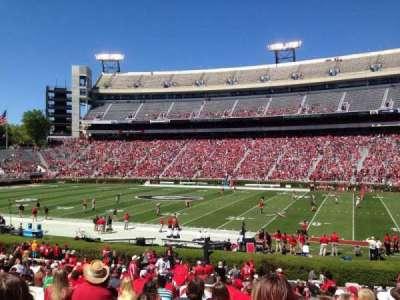 Sanford Stadium, section: 129, row: 29, seat: 4