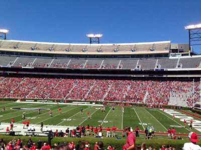 Sanford Stadium, section: 129, row: 29, seat: 4