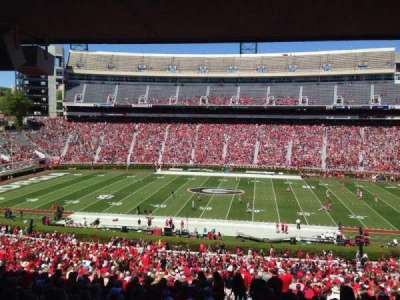 Sanford Stadium, section: 130, row: 59, seat: 29