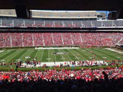 Sanford Stadium, section: 132, row: 60, seat: 5