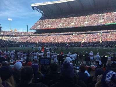 Husky Stadium, section: 105, row: 5, seat: 2