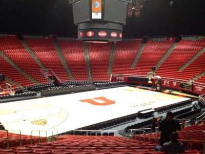 Jon M. Huntsman Center, section: C, row: 19, seat: 7