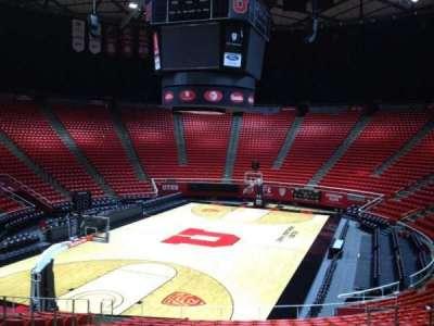 Jon M. Huntsman Center, section: E, row: 19, seat: 7