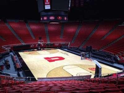 Jon M. Huntsman Center, section: H, row: 19, seat: 7