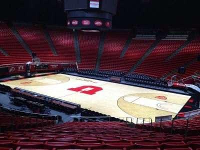 Jon M. Huntsman Center, section: K, row: 19, seat: 7