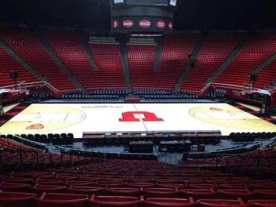 Jon M. Huntsman Center, section: N, row: 19, seat: 7
