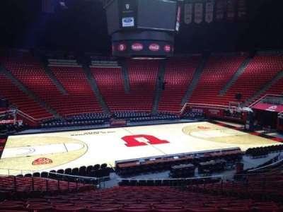 Jon M. Huntsman Center, section: P, row: 19, seat: 7