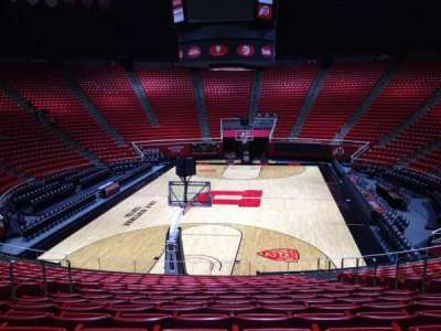 Jon M. Huntsman Center, section: T, row: 19, seat: 7