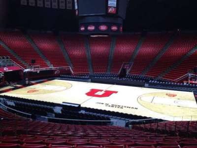 Jon M. Huntsman Center, section: Y, row: 19, seat: 7