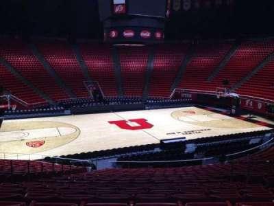 Jon M. Huntsman Center, section: B, row: 19, seat: 7