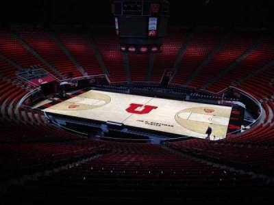 Jon M. Huntsman Center, section: yy, row: 1, seat: 18
