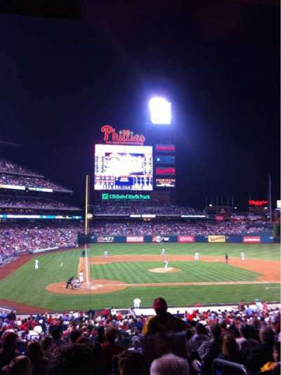 Citizens Bank Park section 120
