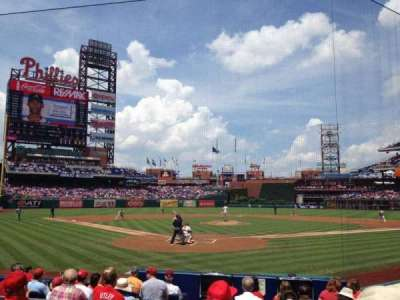 Citizens Bank Park, section: E, row: 11, seat: 12