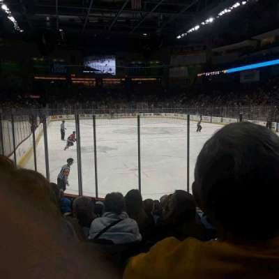 Huntington Center section 102