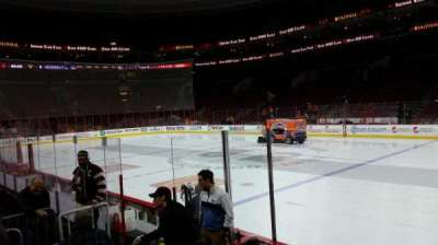 Wells Fargo Center, section: 103, row: 6, seat: 1