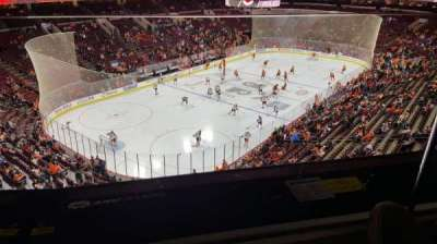 Wells Fargo Center, section: 209a, row: 1, seat: 9