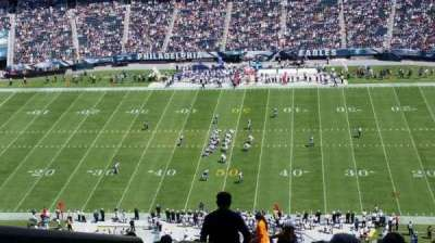 Lincoln Financial Field, section: 202, row: 26, seat: 25